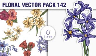 Floral Vector Pack 142 Floral [tag]