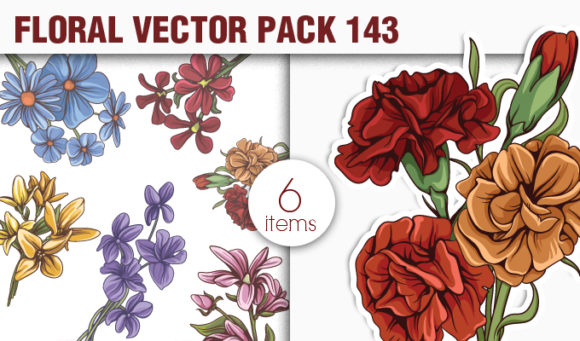 Floral Vector Pack 143 5