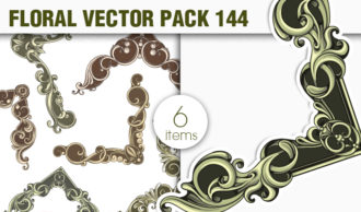 Floral Vector Pack 144 Floral [tag]