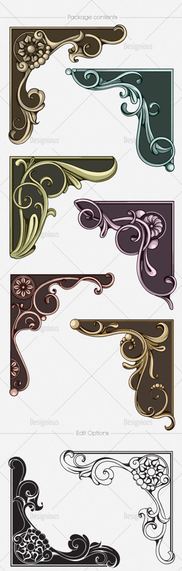Floral Vector Pack 145 6