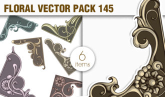 Floral Vector Pack 145 Floral [tag]