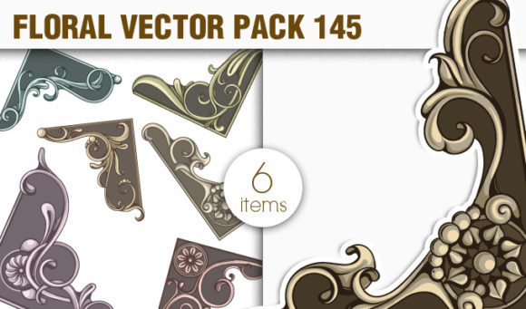 Floral Vector Pack 145 5