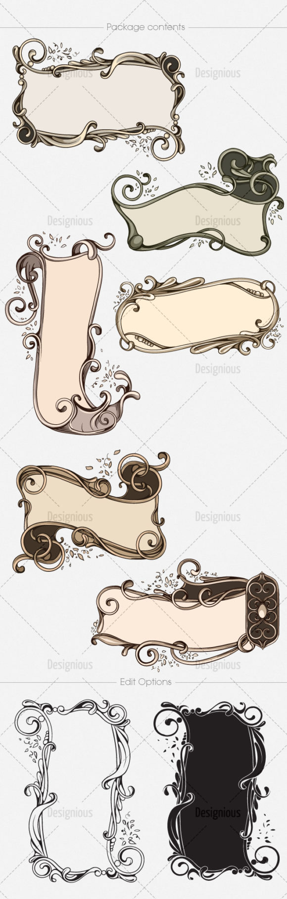 Floral Vector Pack 146 6
