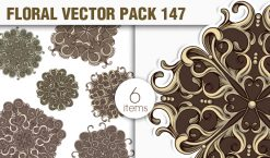 Floral Vector Pack 147 Floral [tag]