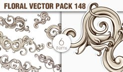 Free Floral Vector Pack 148 Freebies [tag]