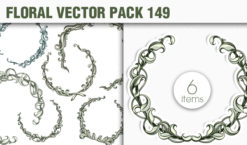 Floral Vector Pack 149 Floral [tag]