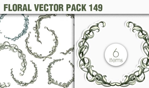 Floral Vector Pack 149 5