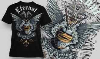 Free T-shirt Design 608 Freebies 3