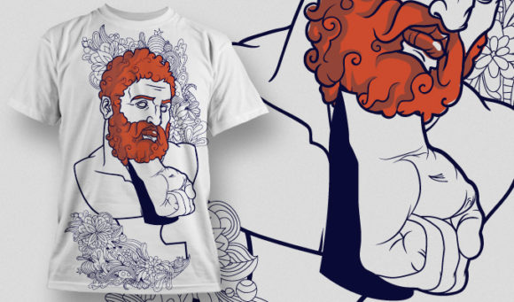 T-shirt Design 615 T-shirt Designs and Templates vector