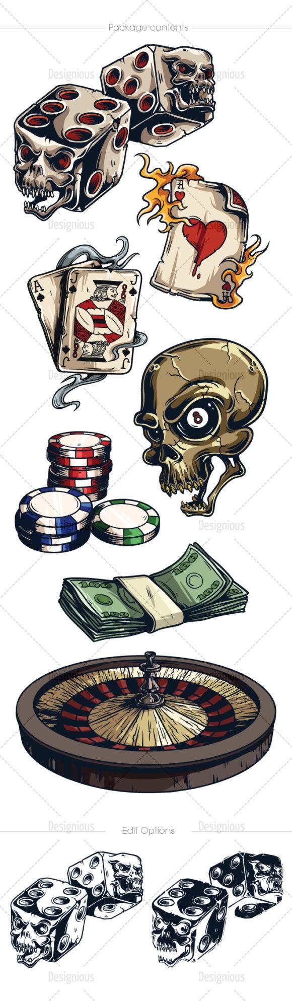 Gambling Vector Pack 2 6