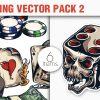 Hearts Vector Pack 6 products designious vector gambling 2 small