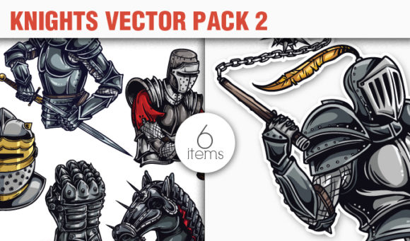 Knights Vector Pack 2 products designious vector knights 2 small