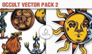 Occult Vector Pack 2 Religion [tag]