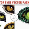 Butterflies Vector Pack 6 products designious vector predators 1 small