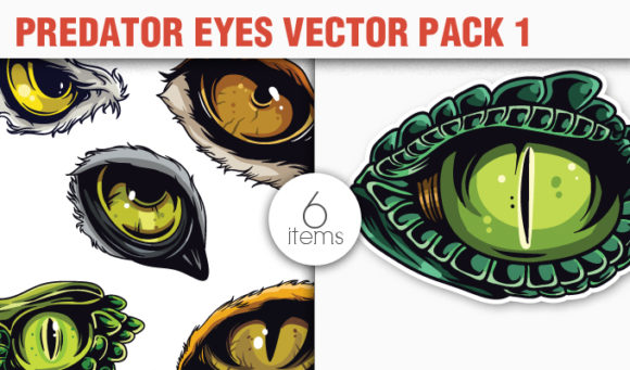 Predator Eyes Vector Pack 1 products designious vector predators 1 small