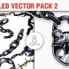 Gothic Lions Vector Pack 1 products designious vector shackled 2 small