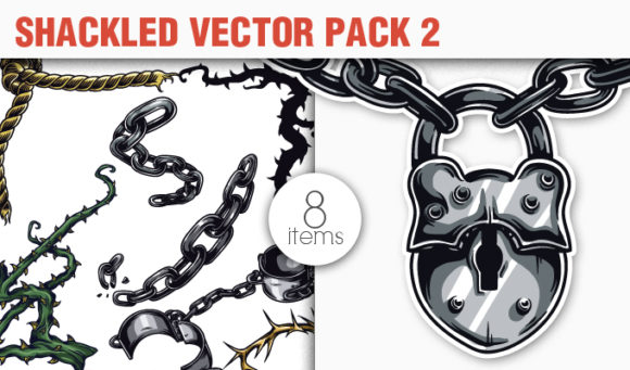 Shackled Vector Pack 2 products designious vector shackled 2 small