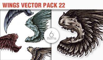 Wings Vector Pack 22 Wings [tag]