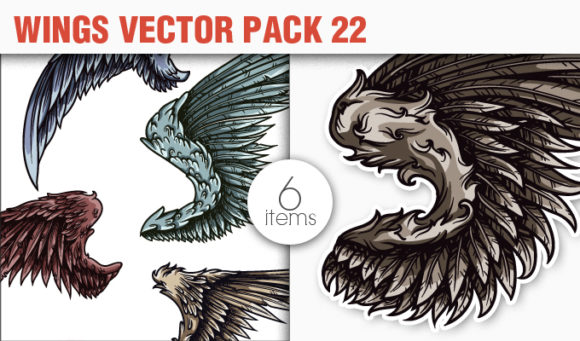 Wings Vector Pack 22 products designious vector wings 22 small