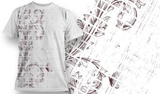 T-shirt Design 626 T-shirt Designs and Templates vector