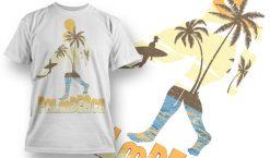 T-shirt Design 627 T-shirt designs and templates summer