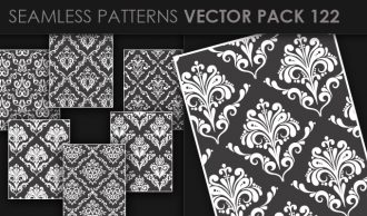 Seamless Patterns Vector Pack 122 Vector Patterns [tag]