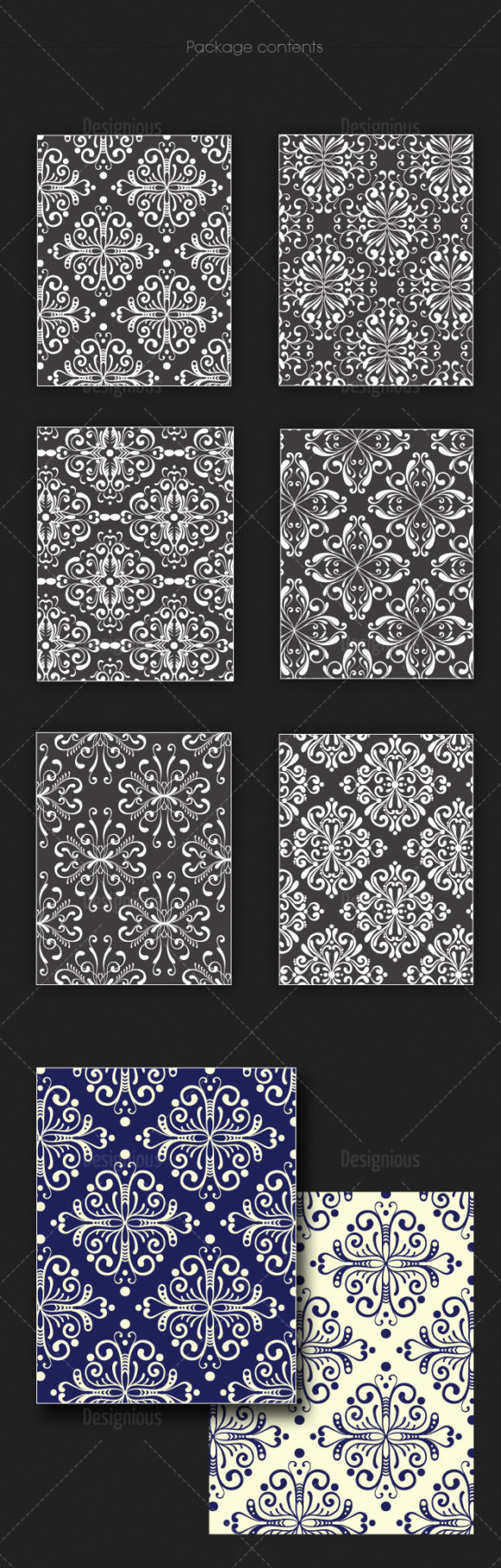 Seamless Patterns Vector Pack 123 products seamless patterns vector pack 123 large 1