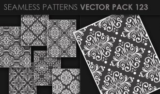 Seamless Patterns Vector Pack 123 Vector Patterns [tag]