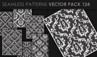 Seamless Patterns Vector Pack 124 Vector Patterns [tag]