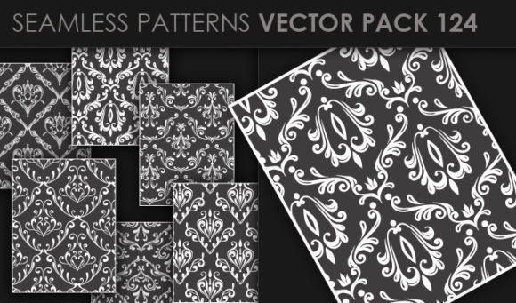 Seamless Patterns Vector Pack 124 products seamless patterns vector pack 124 small
