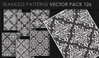 Seamless Patterns Vector Pack 126 Vector Patterns [tag]