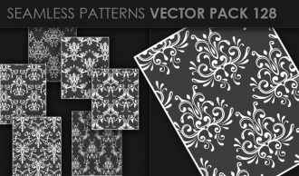 Seamless Patterns Vector Pack 128 Vector Patterns [tag]