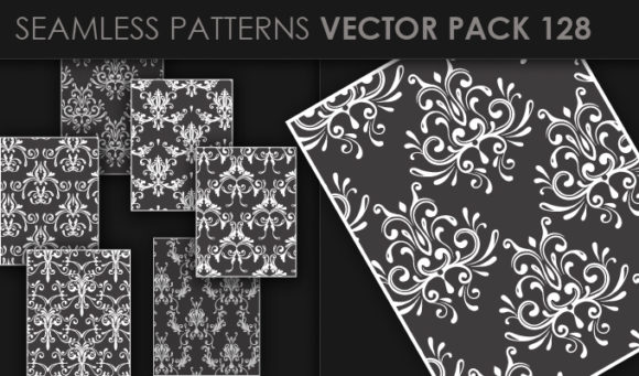 Seamless Patterns Vector Pack 128 5