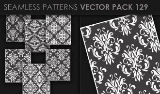 Seamless Patterns Vector Pack 129 Vector Patterns [tag]