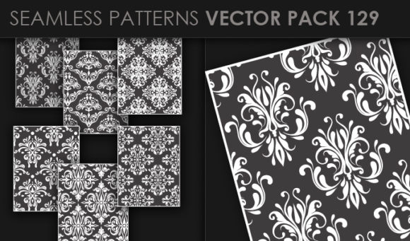 Seamless Patterns Vector Pack 129 5
