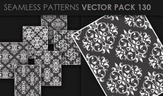 Seamless Patterns Vector Pack 130 Vector Patterns [tag]
