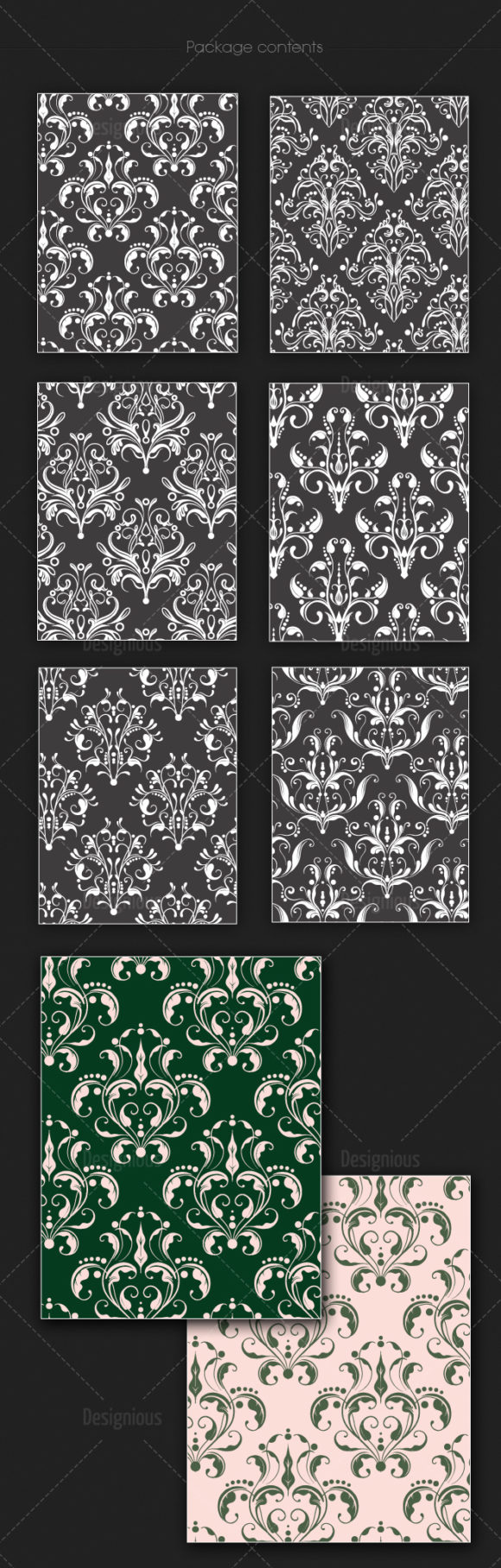 Seamless Patterns Vector Pack 131 products seamless patterns vector pack 131 large