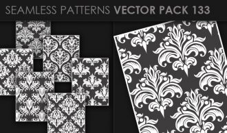 Seamless Patterns Vector Pack 133 Vector Patterns [tag]