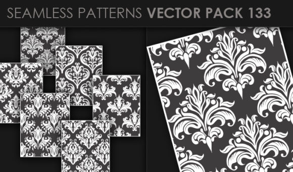 Seamless Patterns Vector Pack 133 5