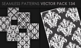Seamless Patterns Vector Pack 134 Vector Patterns [tag]