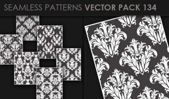 Seamless Patterns Vector Pack 134 5