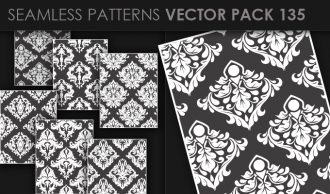 Seamless Patterns Vector Pack 135 Vector Patterns [tag]
