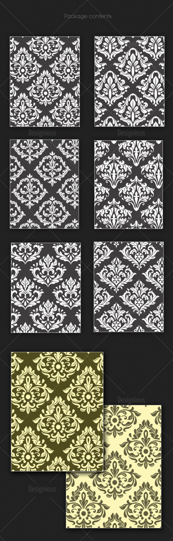 Seamless Patterns Vector Pack 136 6