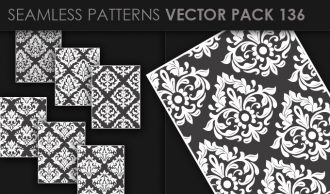Seamless Patterns Vector Pack 136 Vector Patterns [tag]