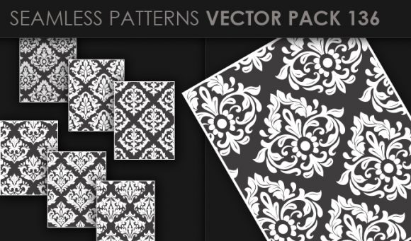 Seamless Patterns Vector Pack 136 5