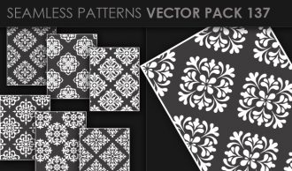 Seamless Patterns Vector Pack 137 Vector Patterns [tag]