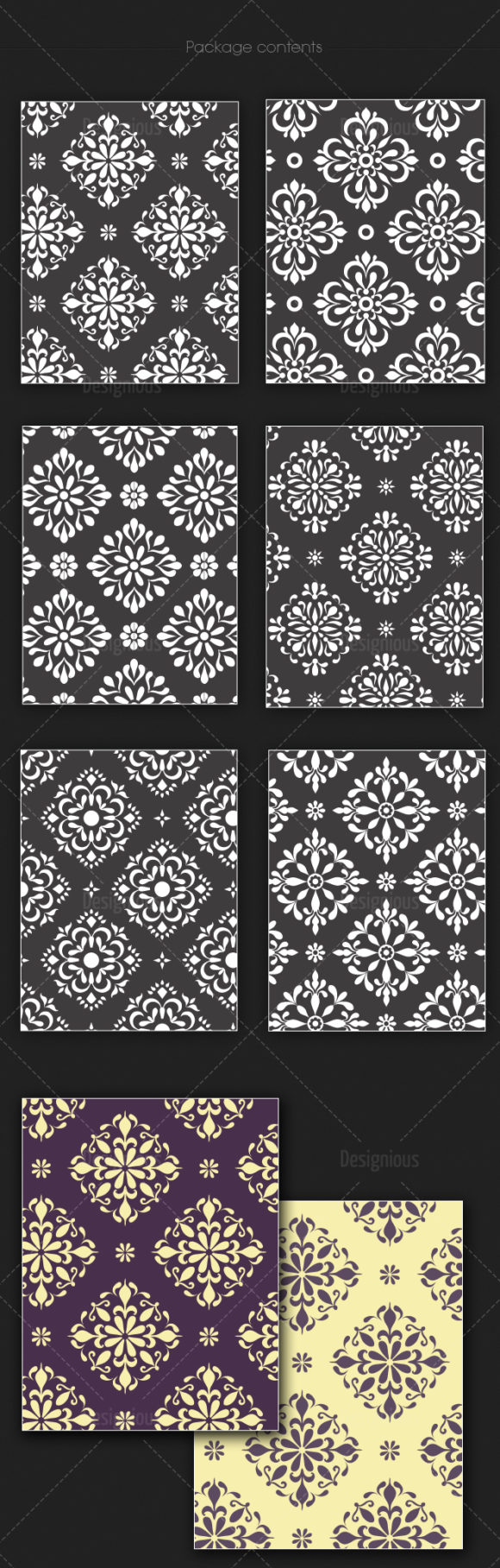 Seamless Patterns Vector Pack 138 products seamless patterns vector pack 138 large