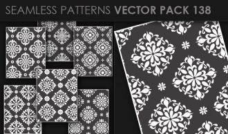 Seamless Patterns Vector Pack 138 Vector Patterns [tag]