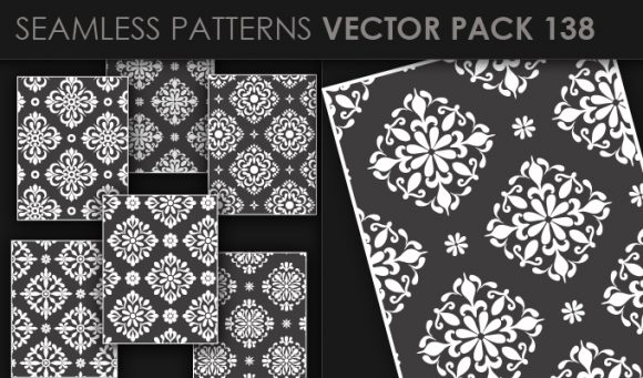 Seamless Patterns Vector Pack 138 products seamless patterns vector pack 138 small