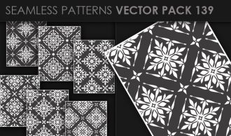 Seamless Patterns Vector Pack 139 Vector Patterns [tag]